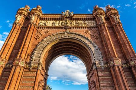 Arc de Triomphe à Barcelone