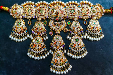 Bridal indian necklace