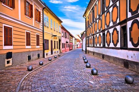 Streets of Varazdin