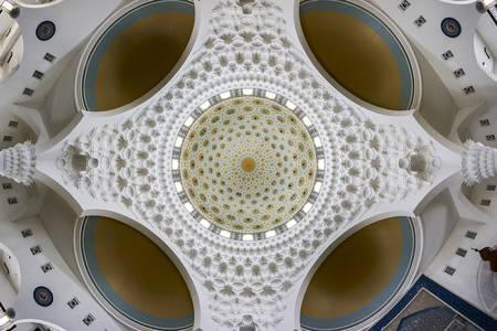 Al-Bukhari Mosque ceiling