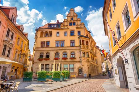 Străzile din Meissen