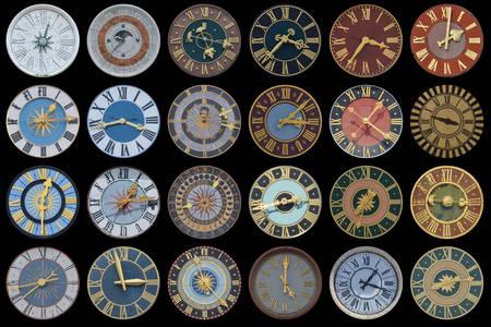 Колекція стародавніх годиннииків