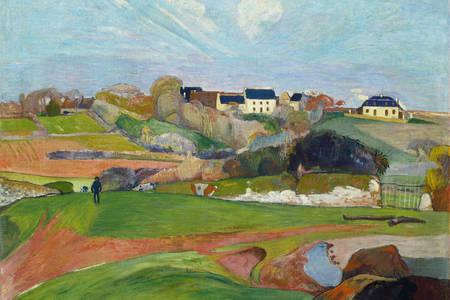 """Paul Gauguin: """"Paesaggio a Le Pouldu"""""""