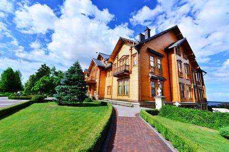 Klubový dom v parku Mezhyhirya