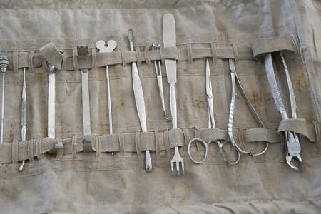 Old medical instruments