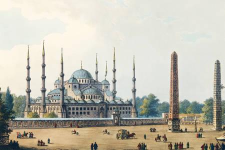 "Luigi Mayer: ""Το Τζαμί του Σουλτάνου Αχμέτ"""