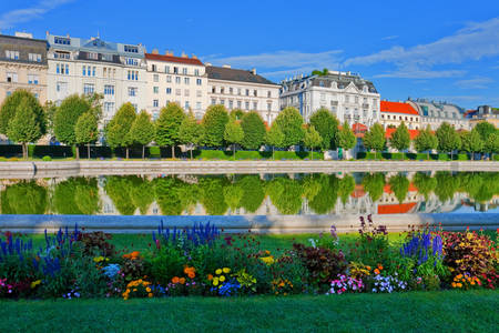 Danube Canal in Vienna
