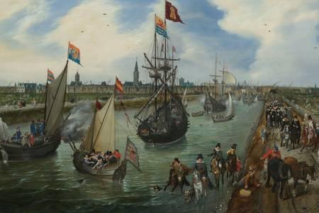 """Van de Venne: """"Port of Middelburg"""""""