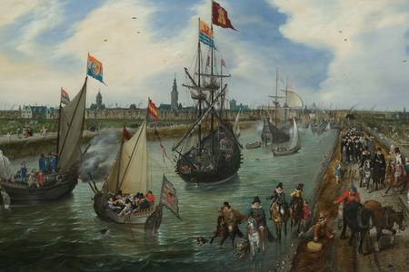 """Φαν ντε Φέννε: """"Λιμάνι του Μίντλμπουργκ"""""""