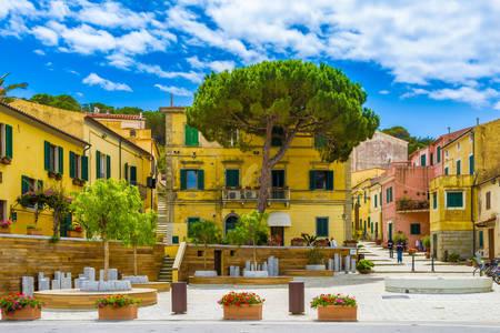 Streets in Marina di Campo