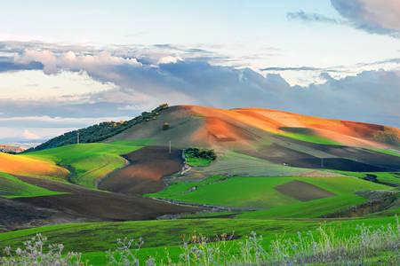 Góry w prowincji Meknes-Tafilalet