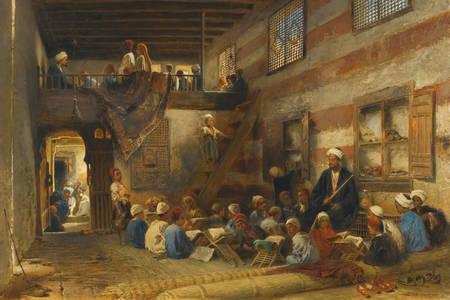 "Konstantin Makovsky: ""School in Cairo"""