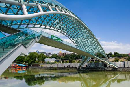 Bridge of Peace in Tbilisi