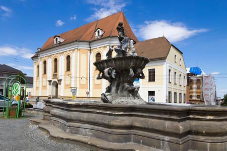 Fountain of Triton in Olomouc