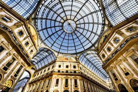 Gallery of Victor Emmanuel II in Milan