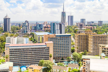 Centrum mesta Nairobi