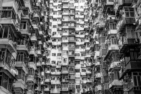 Monster Building in Hong Kong