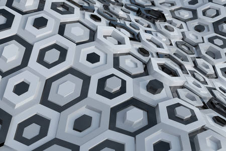 Fundal abstract hexagonal