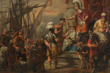Ferdinand Bol: Aeneas at the Court of Latinus