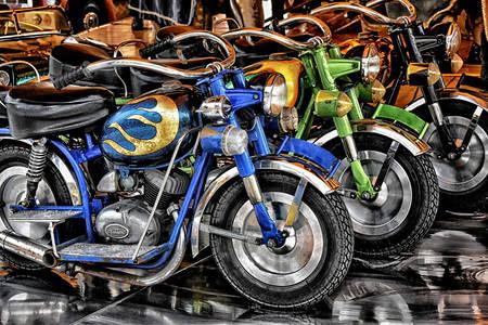 Retro motocykly
