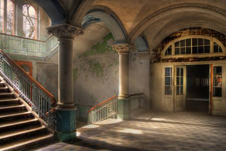 Napušteno lječilište Beelitz-Heilstätten