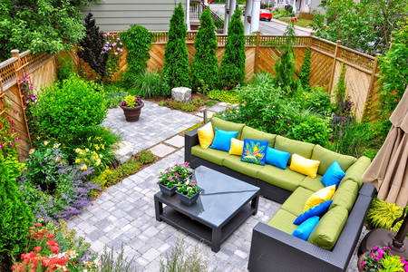 Design del cortile
