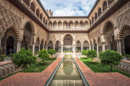 Palác Alcazar v Seville