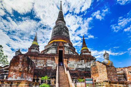 Temple Wat Yai Chai Monghon