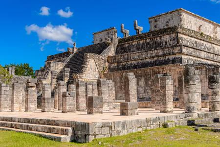 Tempio dei Guerrieri a Chichen Itza