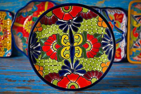 Мексиканська керамічна тарілка