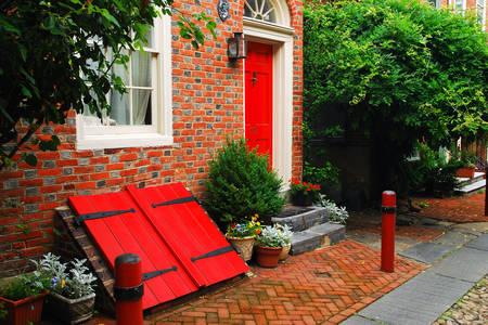 Old house in Philadelphia