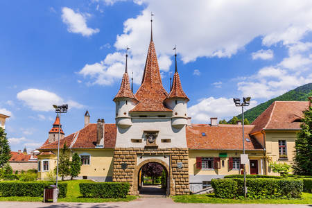 Catherine's gate in Brasov