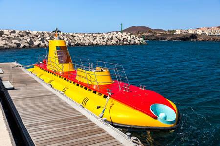 Toeristische onderzeeër
