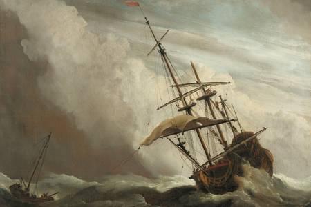 "Willem van de Velde el Joven: ""La Ráfaga"""