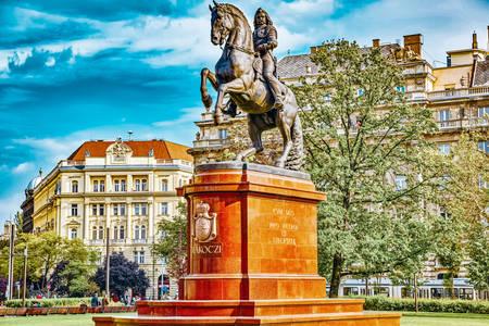 Monumento a Rákóczi a Budapest
