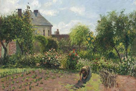 "Camille Pissarro: ""The Artist's Garden at Eragny"""