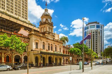 Estação ferroviária central de Brisbane
