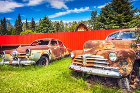 Vielles voitures