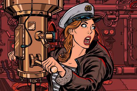 Γυναίκα καπετάνιος σε ένα υποβρύχιο