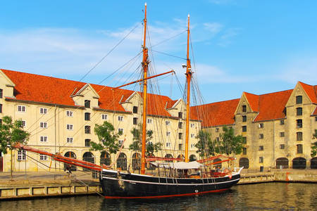 Old ship in Copenhagen