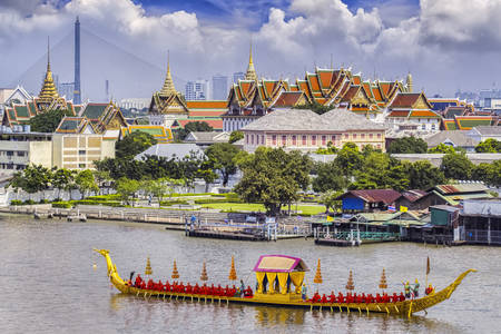 Thailand Royal Palace landschap
