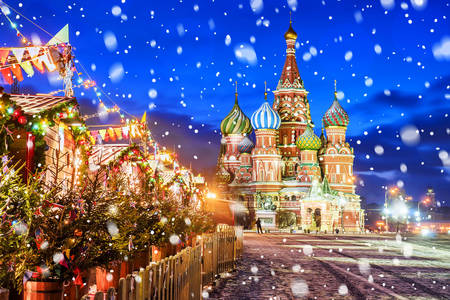 New Year on Red Square