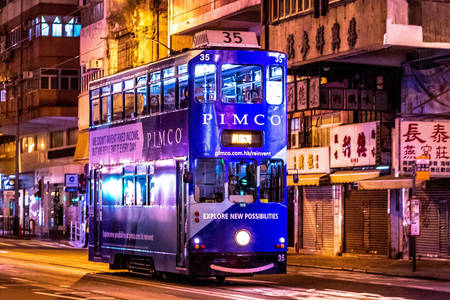 Hong Kong city buses