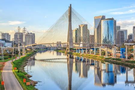 Oliveira Bridge in Sao Paulo
