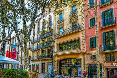 Arquitectura de edificios en Barcelona
