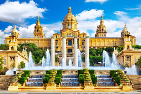 National Palace in Barcelona