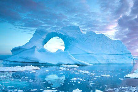 IJsbergen van Groenland
