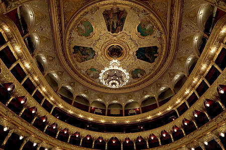Auditorium of the Odessa Opera and Ballet Theater