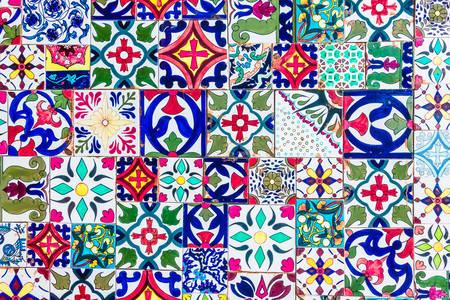 Mozaik csempe Marokkó