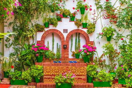Flower houses in Cordoba